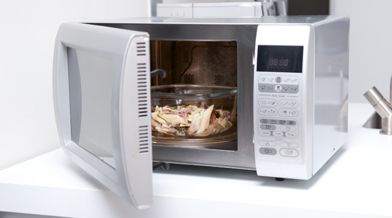 how to clean microwave