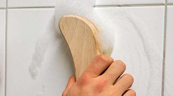 how to clean grout