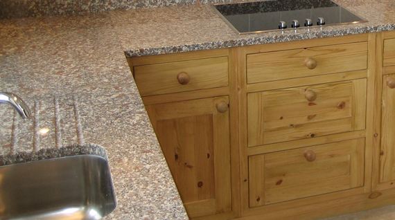 clean granite worktops