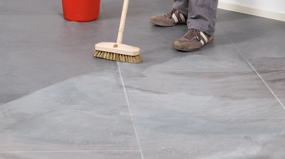 remove cement stains