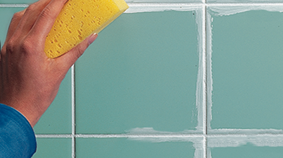 how to whiten grout