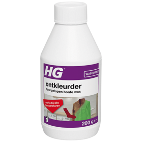 HG colour remover for run dark laundry