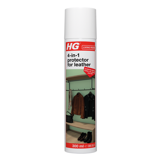 HG water oil grease & dirt repellent for leather