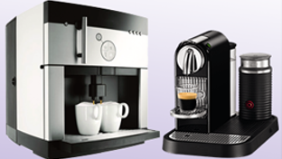 Automatic and fully automatic coffee machines
