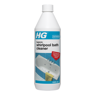 HG hygienic whirlpool bath cleaner