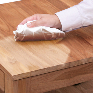 How to remove furniture wax