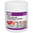 HG whiter than white detergent enhancer with stain remover