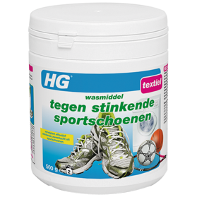 HG detergent against smelly sports shoes