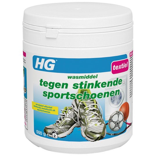 HG detergent for smelly sports shoes