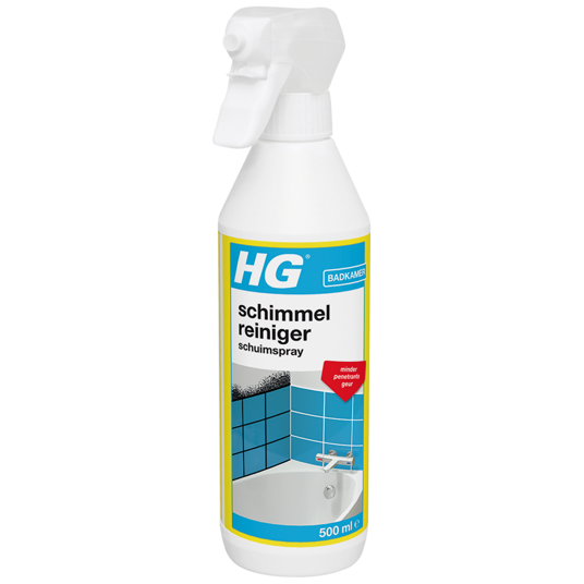 HG mould remover foam spray
