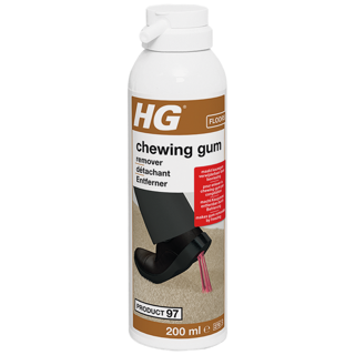 HG chewing gum remover