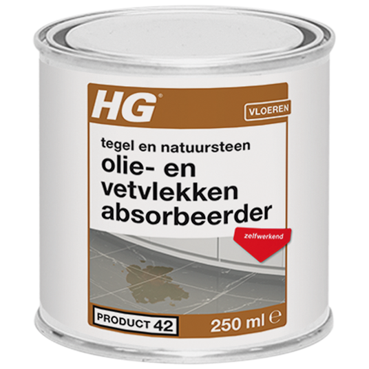 HG natural stone oil & grease stain absorber product 42