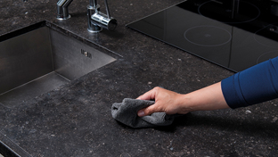 How to clean granite worktops