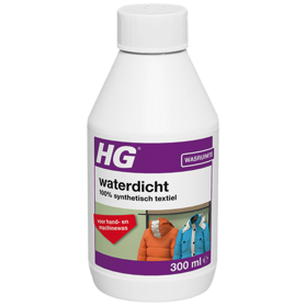 HG waterproofing for 100% synthetic fabrics
