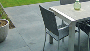 Stone patios, paths, driveways, outdoor tables, planters etc.