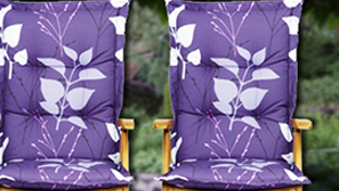 Garden-furniture cushions & covers