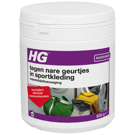 HG for dispelling unpleasant odours in sports clothing
