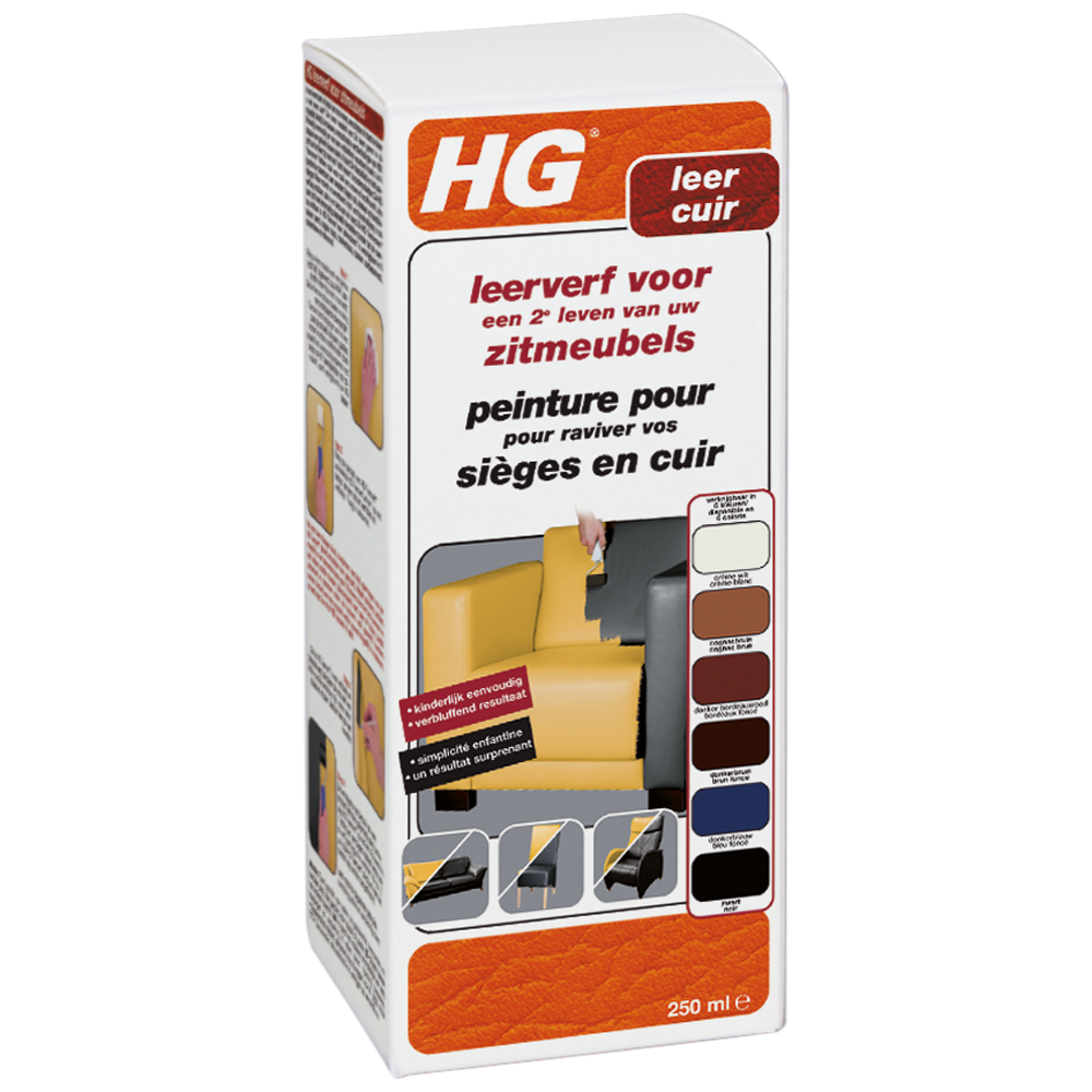 HG leather dye for furniture cream
