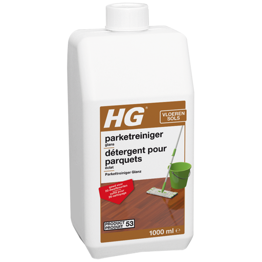 HG parket glansreiniger (wash & shine) (HG product 53)