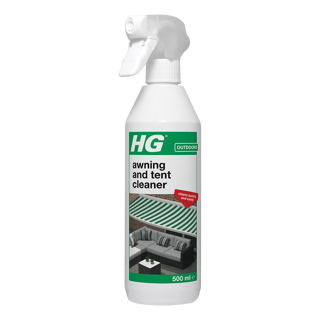 HG awning, tarpaulin and tent cleaner
