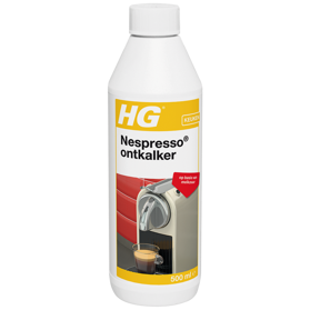 HG descaler for Nespresso machines