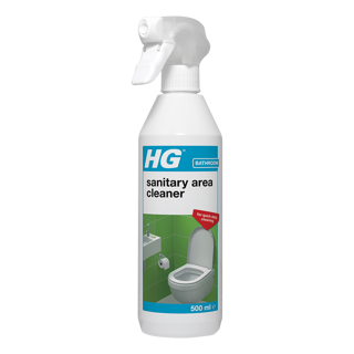 HG hygienic toilet area cleaner