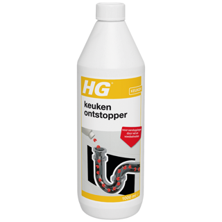 HG kitchen drain unblocker, the natural sink unblocker liquid