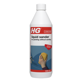 HG intensive cleaner for painting without sanding