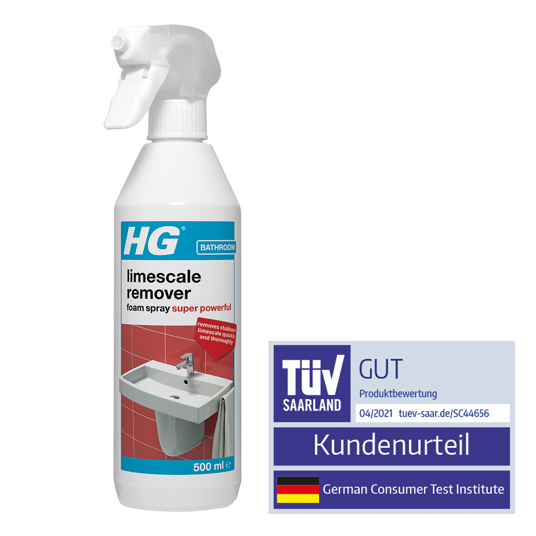 HG scale away foam spray 3x stronger