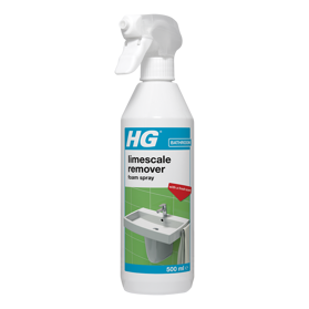 HG scale away foam spray with powerful green fragrance