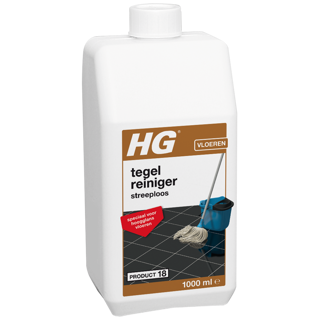 HG polished tile cleaner