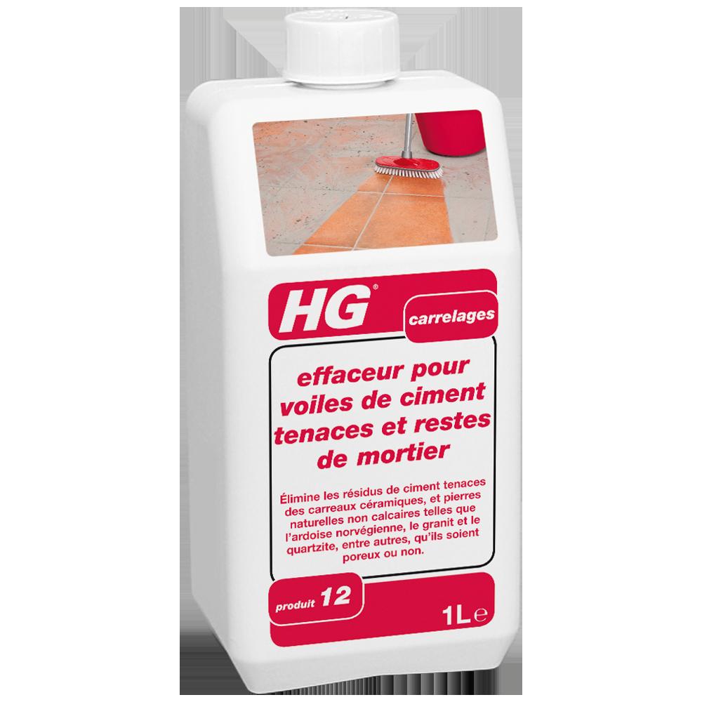 HG effaceur pour voiles de ciment tenaces et restes de mortier | nettoyant voile de ciment sur ...
