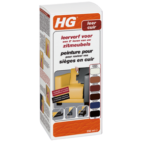 HG leather dye for furniture burgundy red