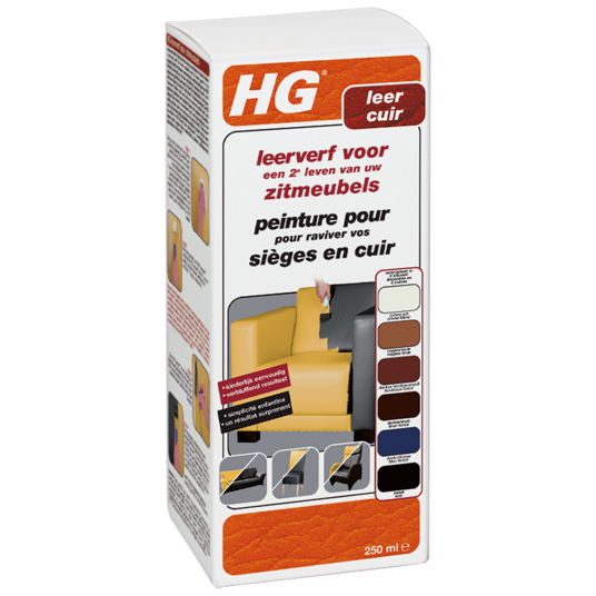 HG leather dye kit for seats (bordeaux red)