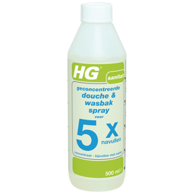 HG shower & washbasin spray refill 5x