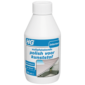 HG dirt repellent polish for synthetic materials